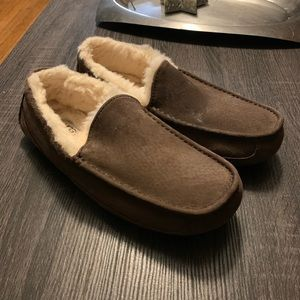 UGG Brown Driving Shoes Slippers Loafers 10